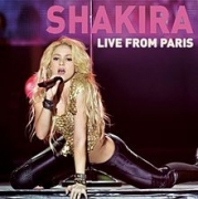 DVD - SHAKIRA - LIVE FROM PARIS