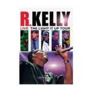 DVD- R .KELLY- LIVE THE LIGHT IT UP TOUR (2007)