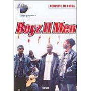 DVD - BOYZ II MEN - ACOUSTIC IN KOREA
